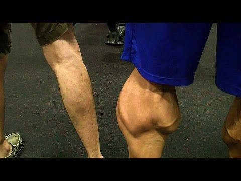 Biggest Calf Muscles In The World - TOP Freakiest Calves