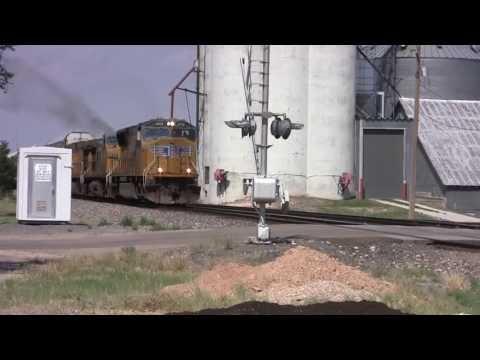 UP 4608 At Goodwell, Oklahoma