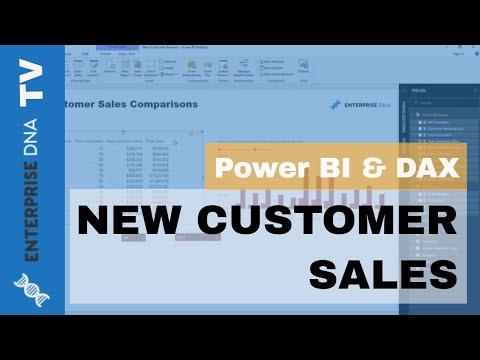 Evaluating New Customer Sales - Advanced Analytics in Power BI