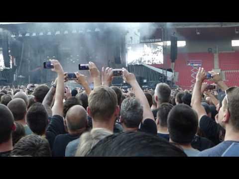 RAMMSTEIN - Intro RAMM4, Eden Arena Prag 170528