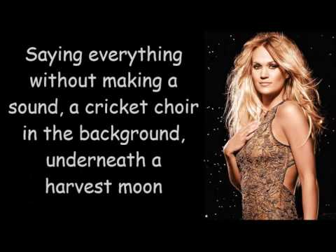 Carrie Underwood ~ Heartbeat (Lyrics)