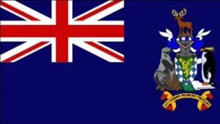 世界の国旗 No.105  サウスジョージア・サウスサンドウイッチ諸島