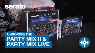 Numark Party Mix II & Party Mix Live Unboxing | First look with Serato