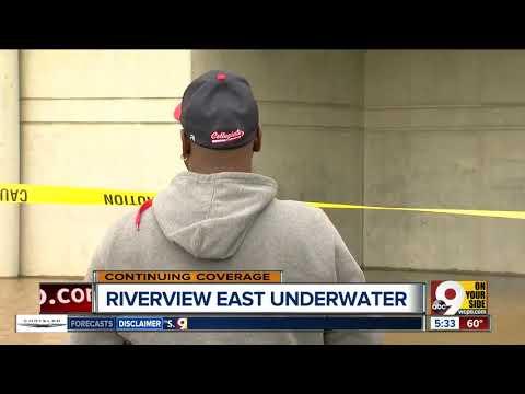 Cincinnati Public Schools' Riverview East Academy is closed for flooding