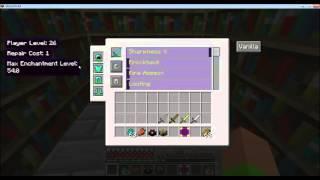 Minecraft Mod Show: Enchanting Plus Mod (Deutsch) 1.7.2