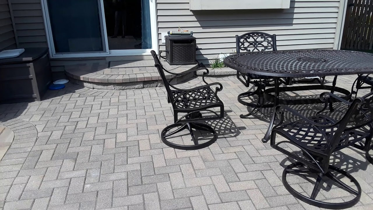 Belgard Paver Patio Design in Plainfield, IL by Archadeck of Chicagoland