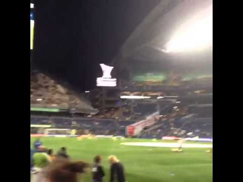 Sounders at America 2016 pre game