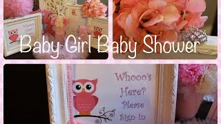 ♕Baby Girl Baby Shower Ideas