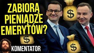 Dodatkowe Pieniądze dla Emerytów czy Sposób na Dofinansowanie Systemu Banków ? - Analiza Komentator