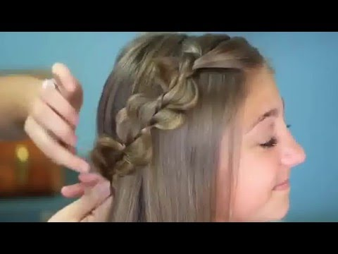 Schone Geflochtene Frisuren Wie Dachkanten Prinzessin