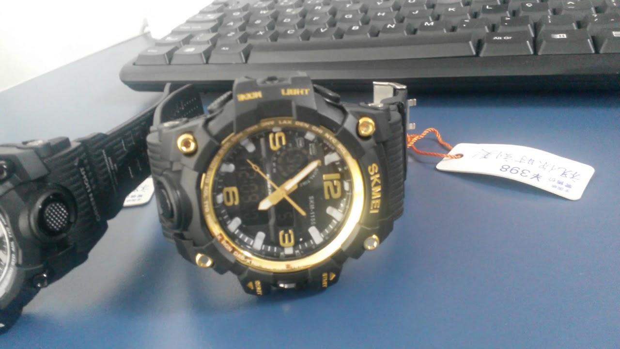 27d55254265 Relógio Skmei 1155 Venda Mercado Livre
