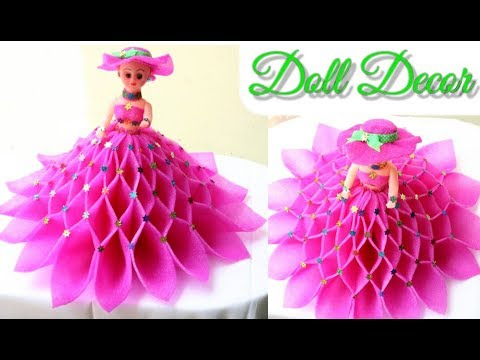 Diy Doll Decoration Idea Make Decorative Doll Best Use Of Doll Foam Sheets Room Decor Idea