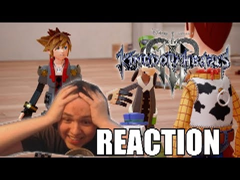 Thumbnail: KINGDOM HEARTS 3 D23 TRAILER REACTION! TOY STORY WORLD! 2018 RELEASE!