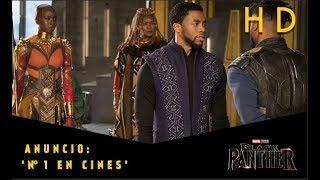 Black Panther de Marvel | Nº1 en cines