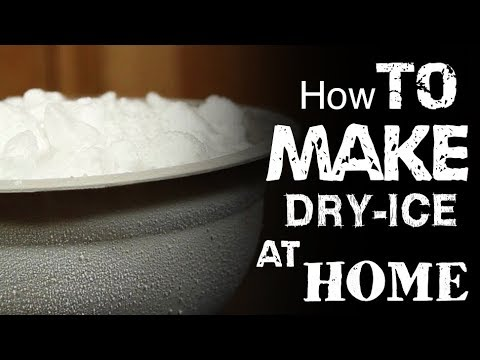 How To Make Dry Ice At Home Youtube