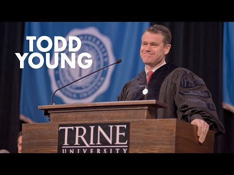 Todd Young 2017 Trine University Commencement Speech
