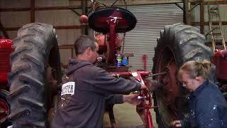 3 point lift conversion on the 1949 Farmall H