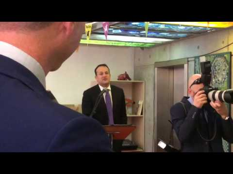 Social Protection Minister Leo Varadkar launches Temple Bar Festival