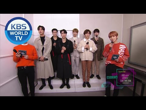 ATEEZ - Interview [Music Bank / 2020.01.31]