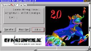 AMIGA Spaceward Ho! SPACE WARD HO AMIGA OCS New World Computing 1994 De cr Illegal Disks2 adf zip