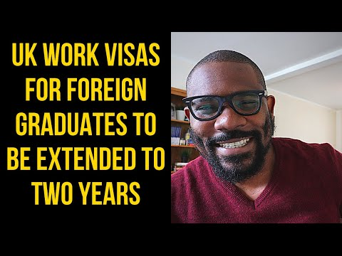 2 Years UK Work Visa for International Students 👨🎓 from 2020 // SAY IT LIKE IT IS - Ep 85