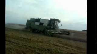 żniwa 2012 na kujawach pszenżyto fortschritt e517 case 7140 wielton