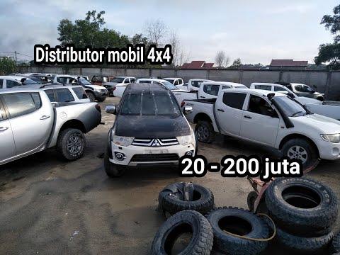 Distributor Mobil Bekas 4x4 Harga Murah 20-200 Juta