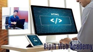 HTML  Developer Tutorial in Hindi | HTML web developer in Hindi