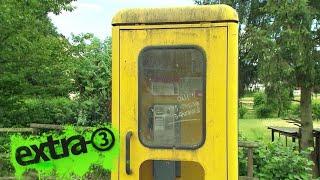 Realer Irrsinn: Irrwege einer Telefonzelle
