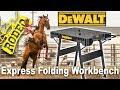 Dewalt Folding Work Table - Great Gift $69 - Review & Demo