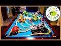 Thomas and Friends POOL TABLE CHALLENGE! Fun Toy Trains for Kids