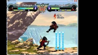 Naruto Mugen Gameplay: 1st Hokage VS Madara