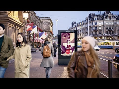 Clear Channel Schweiz - Zeitrafferfilm Digital Zürich