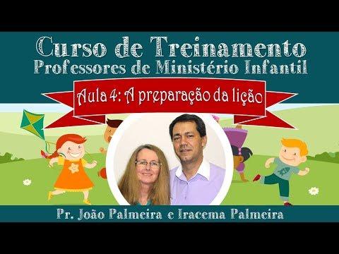 AULA 5: PREPARAÇÃO DA LIÇÃO | IRACEMA PALMEIRA