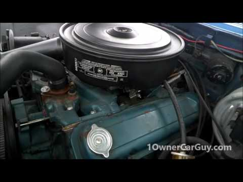 1958 Pontiac Bonneville V8 Convertible Classic Car Video