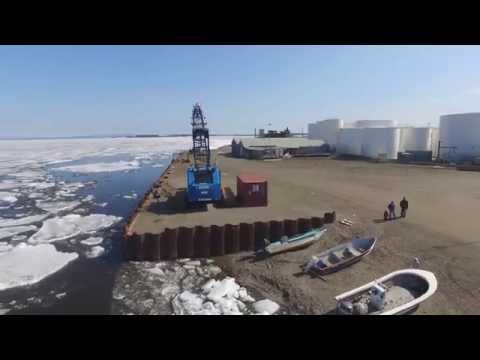 Kotzebue Kobuk Ice Break up 1rst Flight