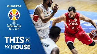 Syria v India - Highlights - FIBA Basketball World Cup 2019 - Asian Qualifiers