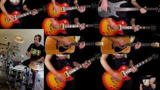 Download Hotel California - Eagles - Guitar Bass Drum Cover MP3 song and Music Video