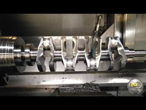 PAR Billet Crank Shaft Machining