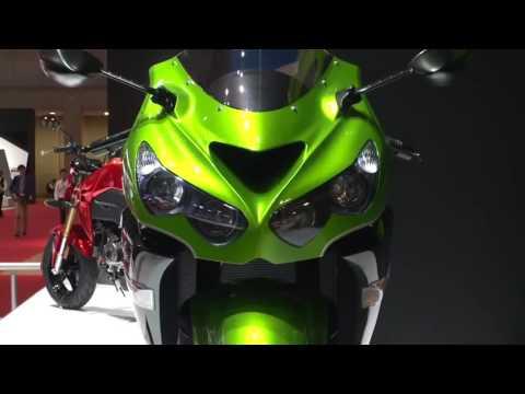 2016 new #Kawasaki at 44th Tokyo Motor Show #TMS15 #44thTMS ブースハイライト:カワサã