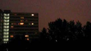 Burza Katowice 15 lipca 2009 22:00-22:10