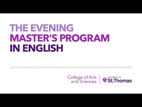 Graduate Writing Consultant at the University of St. Thomas