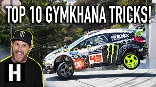 Ken Block Tells Us His Top 10 Gymkhana Tricks Ever!