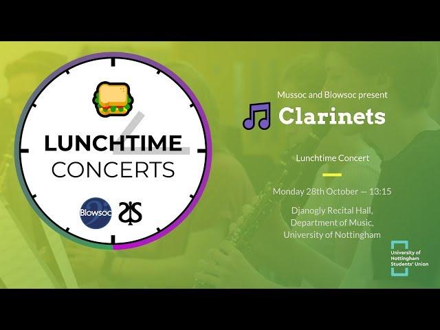 🎵 Clarinets LTC (Autumn 2019)