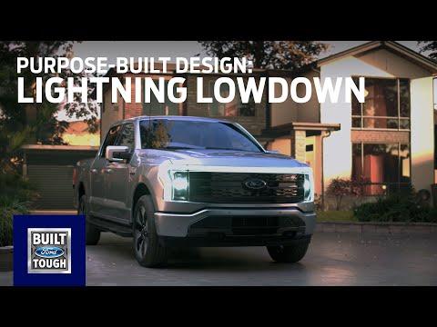 F-150 Lightning Lowdown: Purpose-Built Design | Ford