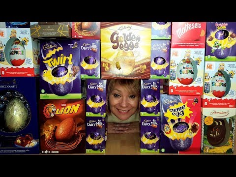 Mega Chocolate Easter Egg Haul !!