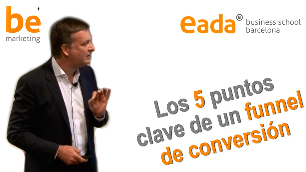 Funnel de conversión, los 5 puntos clave (resumen)- Be Marketing Day