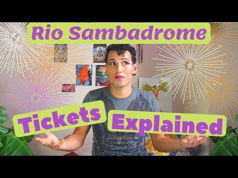 Rio Sambadrome: Tickets Explained