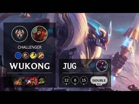 Wukong Jungle vs Kha'Zix - EUW Challenger Patch 10.19