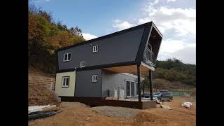 당진에 건축한 모듈러주택 30평형(경량목조주택)_(주)…